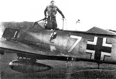 FW 190 A-6 White-7 Victor Widmaier