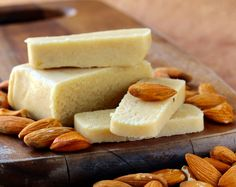 How To Make Marzipan - Escoffier Online International Culinary Academy Sweets Recipes, Raw Food Recipes, Cooking Recipes, How To Make Marzipan, Dessert Thermomix, Diwali Food, Vegan Cheese, Almond Recipes, Vegan Dishes