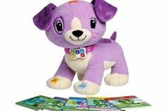 LeapFrog Read with Me - Violet This set is aimed at developing children at pre/early reading level. It includes 5 board books and Violet will read aloud from them and ask a question at the end of a page to reinforce listening skill http://www.comparestoreprices.co.uk/educational-toys/leapfrog-read-with-me--violet.asp