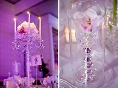 candelabra centerpiece // photo by Sara Kauss Photography