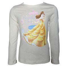 Disney Princess - Camiseta de manga larga - para mujer Amarillo amarillo 5 años #camiseta #friki #moda #regalo