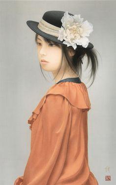 森本 純 (Jun Morimoto 1970-)   美人画の系譜 Genealogy of Portraying Beautiful Woman