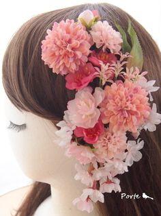 和花で花飾り。。。白無垢用に |Wedding Flower・ぽると のブログ