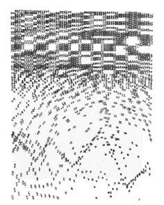 'Whisper Piece', Bob Cobbing, 1969
