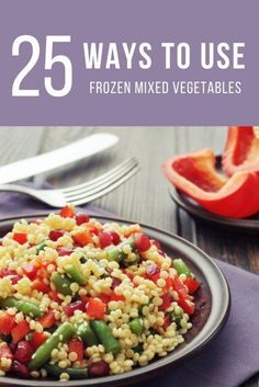how to cook frozen vegetables healthy
