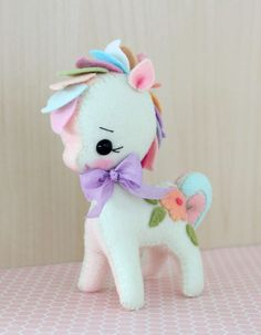 Gingermelon Dolls: Rainbow Pony