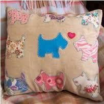 Image result for applique cushion cover patterns