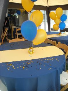 "Photo 1 of 5: College Graduation / Graduation/End of School ""Gold and Blue Congrats"" 