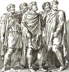 Dacian nobles on Trajan Column. Historical Costume, Prehistoric, Mythology, Statue, Stock Photos, Costumes, Illustration, Artist, Rome