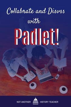 Padlet is an application to create an online post-it note- bulletin board that you can use to display information and collaborate together for any topic.