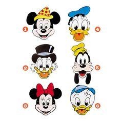 Careta de Disney #mascaras #antifaces #carnaval