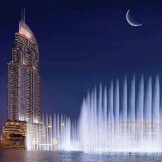 Hotel:  THE ADDRESS DOWNTOWN DUBAI, Mohammed Bin Rashid Boulevard Downtown Dubai.
