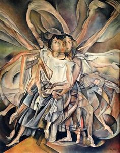 Francis Picabia - Portrait of a Couple. Marcel Duchamp, Futurism Art, Modern Art, Contemporary Art, Francis Picabia, Max Ernst, Painting & Drawing, Action Painting, Wow Art