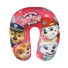 Paw Patrol Soft Travel/car Neck Cushion Pillow