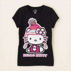 Hello Kitty winter graphic tee