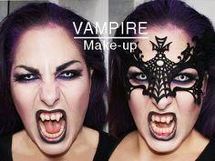 Halloween Vampire makeup / Maquillaje Vampiresa