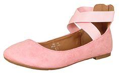 Anna Dana-20 Women's Classic Ballerina Flat w/Elastic Cro... https://www.amazon.com/dp/B01MXUIEOZ/ref=cm_sw_r_pi_awdb_x_Rwc-ybY34RVAT