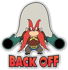 Yosemite Sam I don't Think So Decal Nostalgia Decals Looney Tunes Characters, Classic Cartoon Characters, Looney Tunes Cartoons, Favorite Cartoon Character, Classic Cartoons, Looney Tunes Funny, Old School Cartoons, Old Cartoons, Funny Cartoons