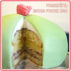 Prinsesstårta: Swedish Princess Cake for Vale's Birthday — Sweet Kiera