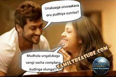 Surya trolled by jyothika