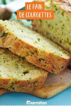 Une recette délicieuse pour cet été : le pain de courgettes made in Marmiton, un cake salé de saison #recettemarmiton #marmiton #recette #recettefacile #recetterapide #faitmaison #cuisine #ideesrecettes #inspiration #courgettes #recettecourgettes