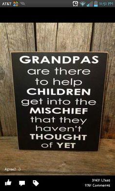 Grandpa and Mischief