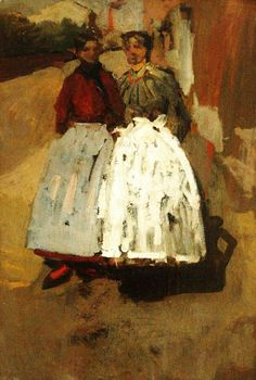 Georges Hendrik Breitner - Two factory girls - George Hendrik Breitner