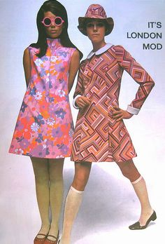 I had a little girl dress very much like the one on the left, that my mother sewed for me..... 1960's