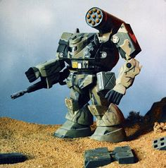 Future War Stories: FWS Military Sci-Fi Oddities: The ROBOTECH DEFENDERS