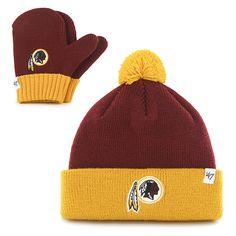 Washington Redskins Bam Bam Set Razor Red 47 Brand INFANT Hat