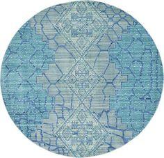Blue Aqua Area Rug