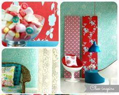 Z miłości do kolorów - projekt Amore di Colore , czyli jak wprowadzić kolor do mieszkania