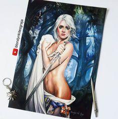 Ciri Witcher 3 by BlondynkiTezGraja.deviantart.com on @DeviantArt