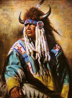 ✿ Tittle: Buffalo Hunter ~ Artist Alfredo Rodriguez ✿