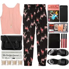 Sin título #55 by yanilobox on Polyvore featuring Tucker, H&M, The Cambridge Satchel Company, Zoya, Incase, Shabby Chic and Borghese