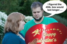 In Idaho it's illegal to give your sweetheart a box of chocolates heavier than 50lbs #FunnyLawFriday