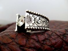 Western Wedding Rings by Travis Stringer.  Like him on facebook for other rings and more info!