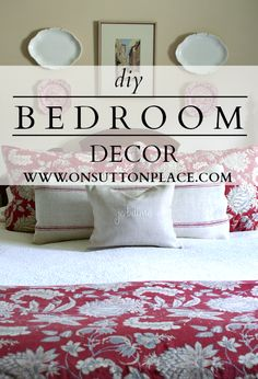 Easy DIY and budget friendly ways to update and refresh a tired space!