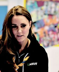 Kate attends a Beaver Scouts meeting. December 16, 2014