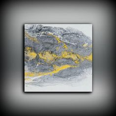 Abstract Painting Fine Art Print Acrylic Painting by LDawningScott