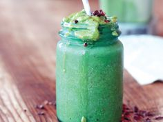 Minz Chip Smoothie aus dem Buch Superfood-Smoothies
