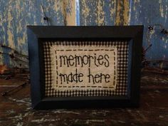 Primitive/Country Sampler by CountryRunnerCrafts on Etsy, $7.00