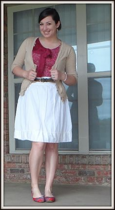 Between the Lines - Teacher Style Blog  #TargetStyle Shirt and cardigan @Target  & Shoes are @TOMS