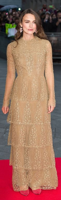 Keira Knightley's baby bump is going to sport Valentino!