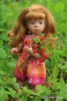 Почему нам лета часто не хватает? Потому что лето наше быстро пролетает ... Нора Минуш от Sylvia Natterer / Другие интересные игровые куклы для девочек / Бэйбики. Куклы фото. Одежда для кукол