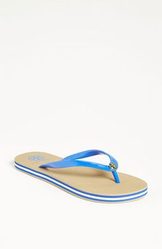 Tory Burch Striped Sole Thong Sandal   Nordstrom