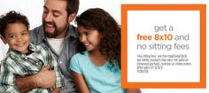 Free 8×10 Portraits at JCPenney!