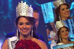 Carolina Rodríguez Castro crowned as Miss Costa Rica 2016