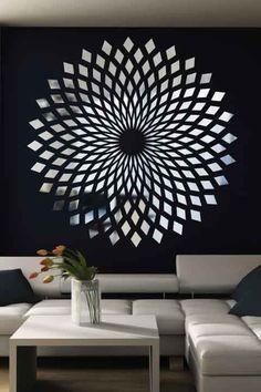 Reflective wall decals - Diamond Starbust Mirror Decal Wall Art, Chrome or Gold, 6 sizes Mirror Decor, Decal Wall Art, Starburst Wall Art, Mirror Wall Decor, Mirror Decal, Reflective Decals, Mirror Designs, Diy Wall, Home Decor