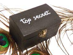Top Secret Box Almohadilla del anillo de boda por Tutorialpaper